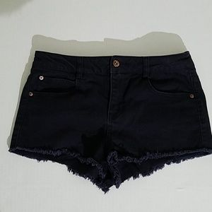 Forever 21 denim cutoffs shorts Women size(27) A17